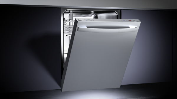 Fully integrated dishwasher in 60 cm
