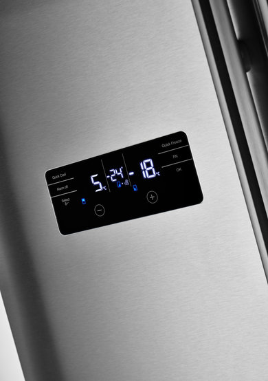 Side by Side Refrigerator with 4 Doors, No Frost and A + 180 cm